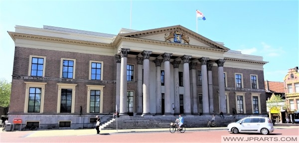 Palace of Justice in Leeuwarden, Netherlands