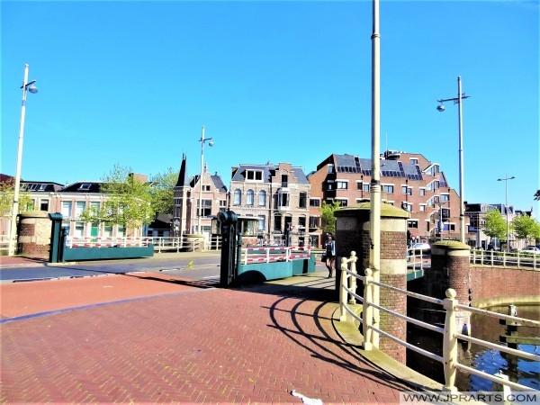 Wirdumerpoortsbrug (1940) in Leeuwarden, Nederland