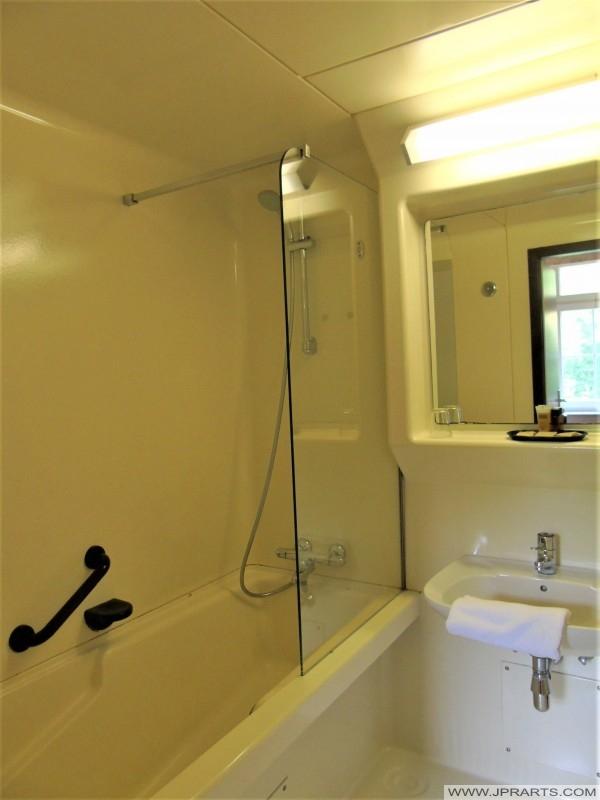 Badkamer van Hotel Kasteel Geulzicht in Berg en Terblijt, Nederland