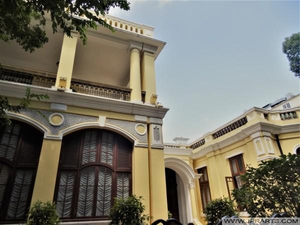 沙美岛殖民地建筑(中国广州)
