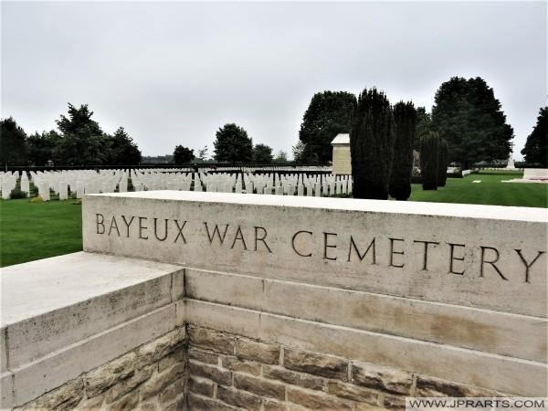 Bayeux War Cemetery (Normandy, France)