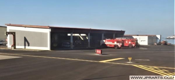 Brigade de Incendio no Aeroporto da Madeira