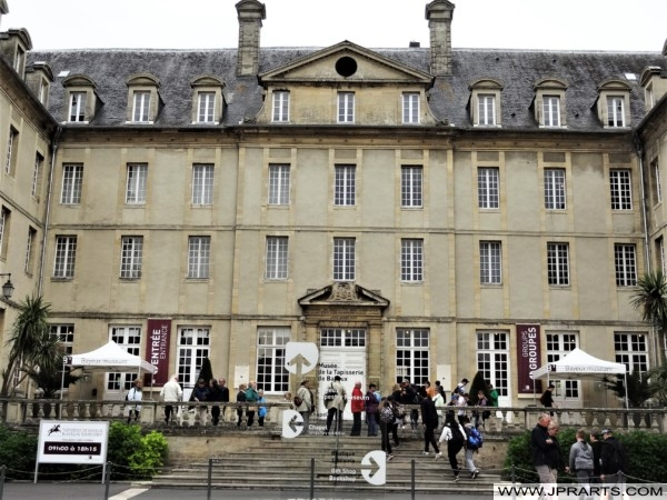 Seminary Building that now houses the Tapestry de Bayeux (Normandy, France)