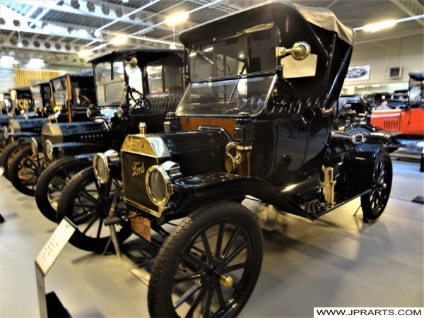 Mass-produced Model T Ford