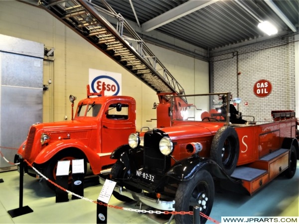 Old Ford Fire Trucks