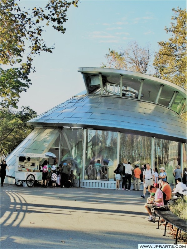 SeaGlass Carousel at The Battery in New York, USA