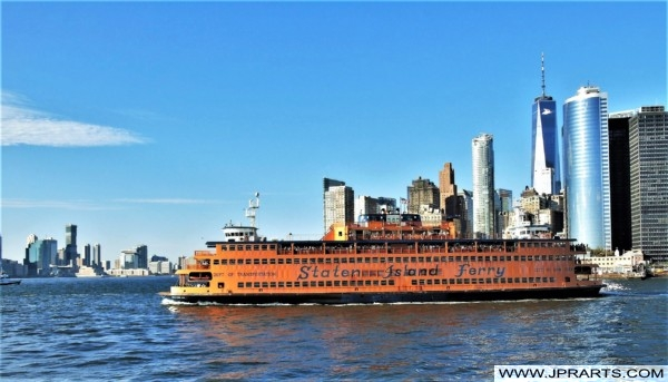 World's Most Famous Ferries (Staten Island Ferry in New York, USA)