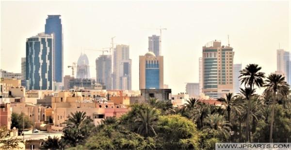 View of Manama, Bahrain