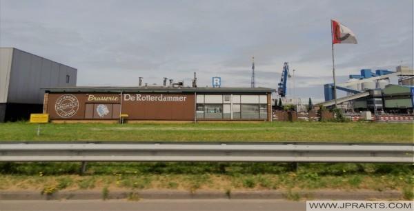 Brasserie De Rotterdammer (Rotterdam Botlek, Nederland)