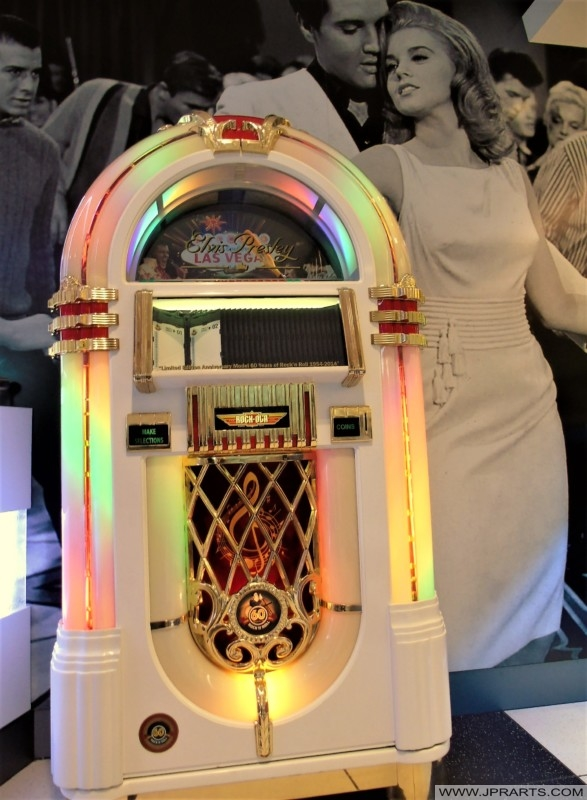 Jukebox in the McDonalds in Best, The Netherlands