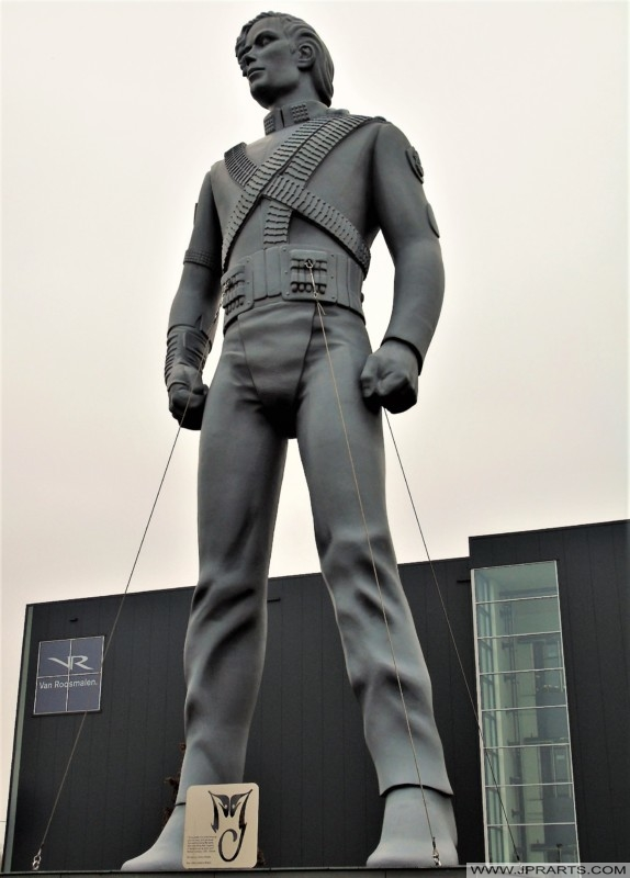 Michael Jackson Statue (Best, The Netherlands)