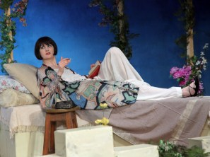 Caroline Doyle as Lady Caroline in SLT's October 2012 production of Enchanted April by Elizabeth von Arnim