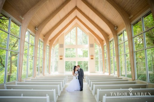 Cindy & Josh's Glass Chapel Wedding