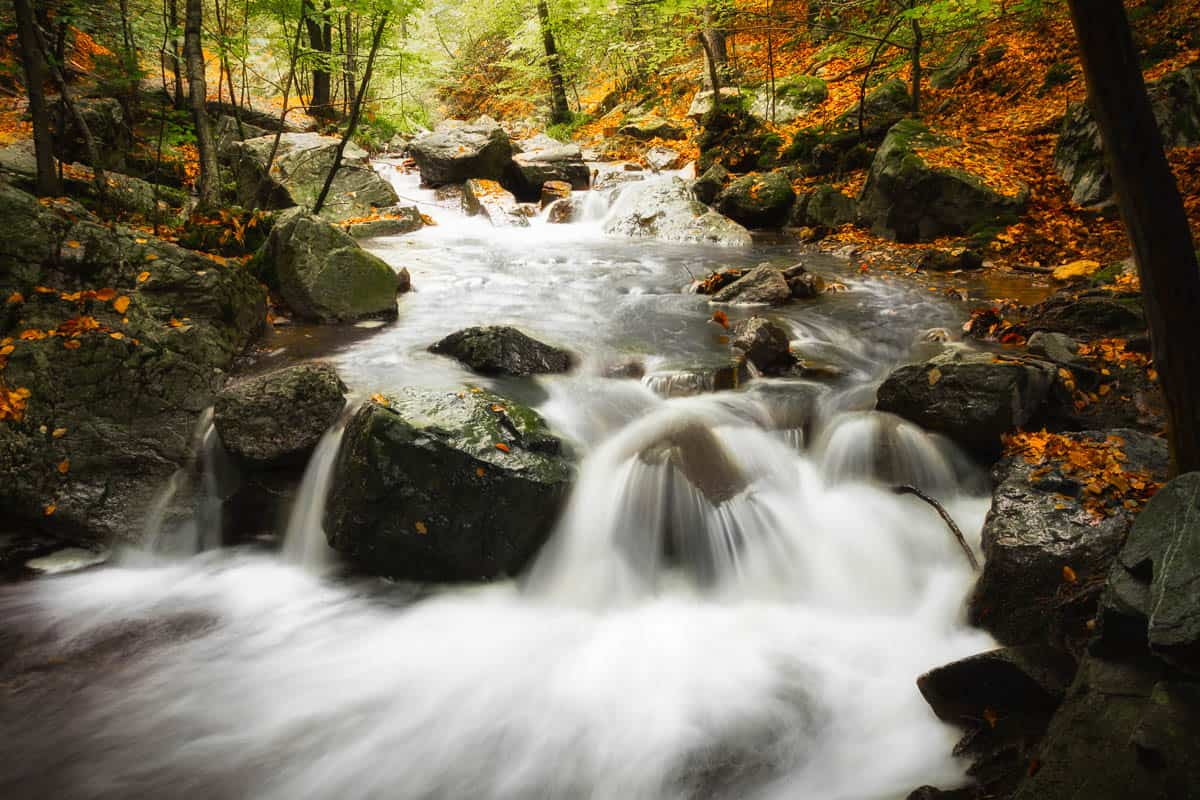 Waterfalls – a walk into the Belgian Ardennes