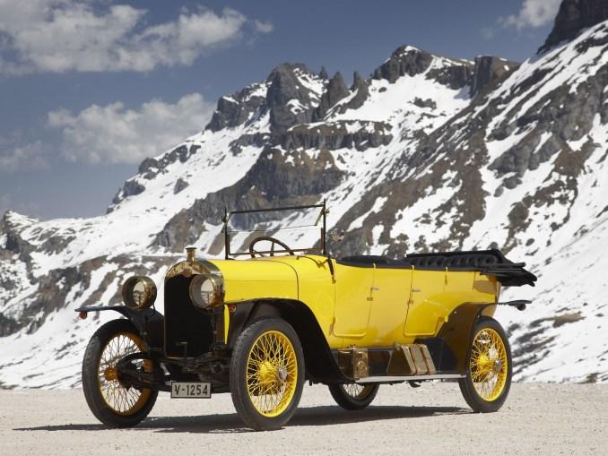 Audi Type C 1435 PS Alpensieger 1912