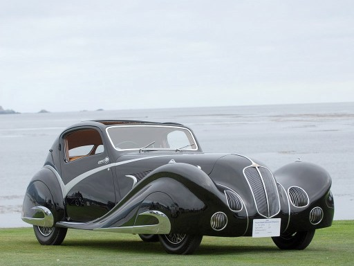 1936 Delahaye 135 Competition Court Figoni Falaschi Coupe