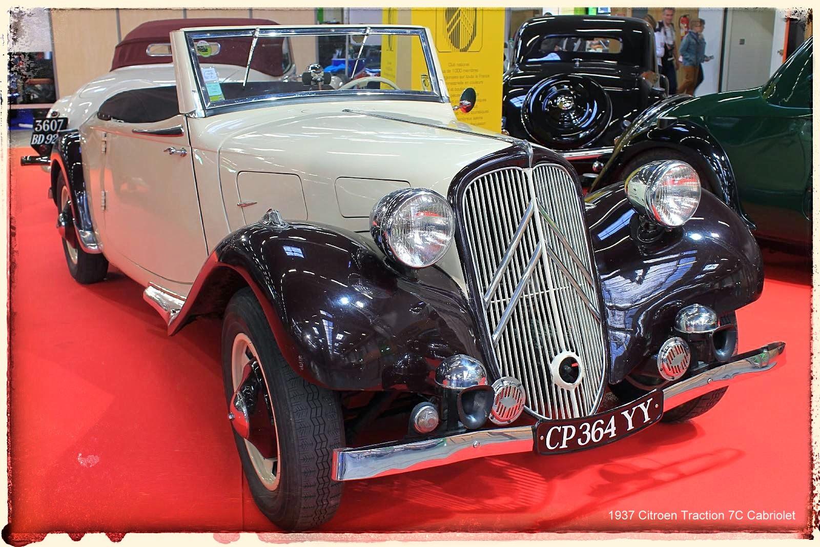Automédon - 1937 Citroen Traction 7C Cabriolet