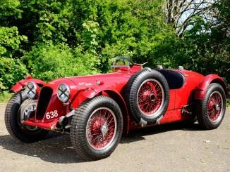 1939 Aston Martin 2 litre Speed