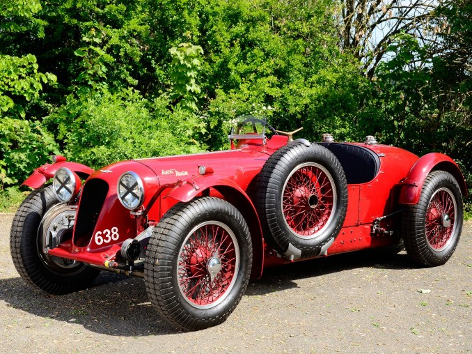 1939 Aston Martin 2 litre Speed