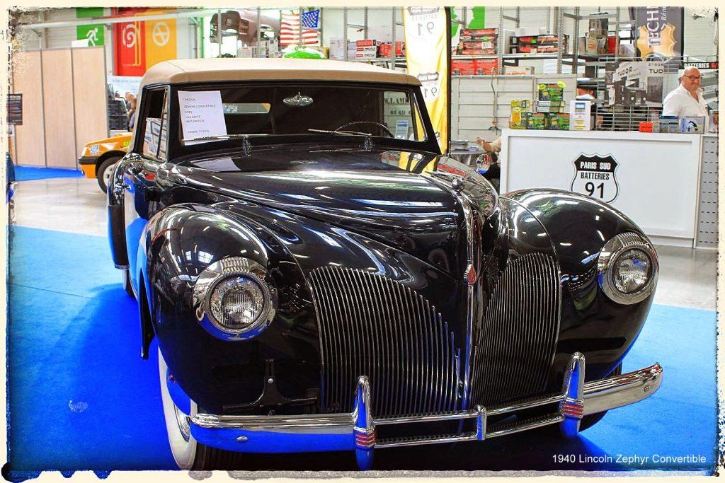 Automédon - 1940 Lincoln Zephyr Convertible