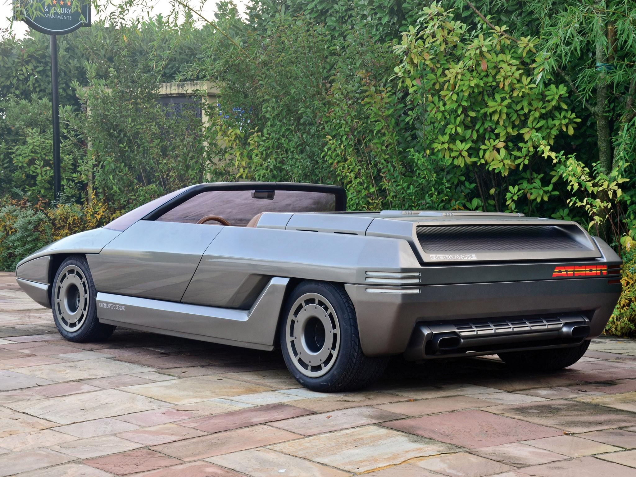 Lamborghini Bertone Athon Speedster Concept 1980
