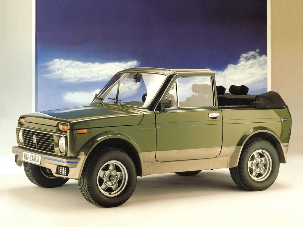 1983 Lada Niva Cabrio
