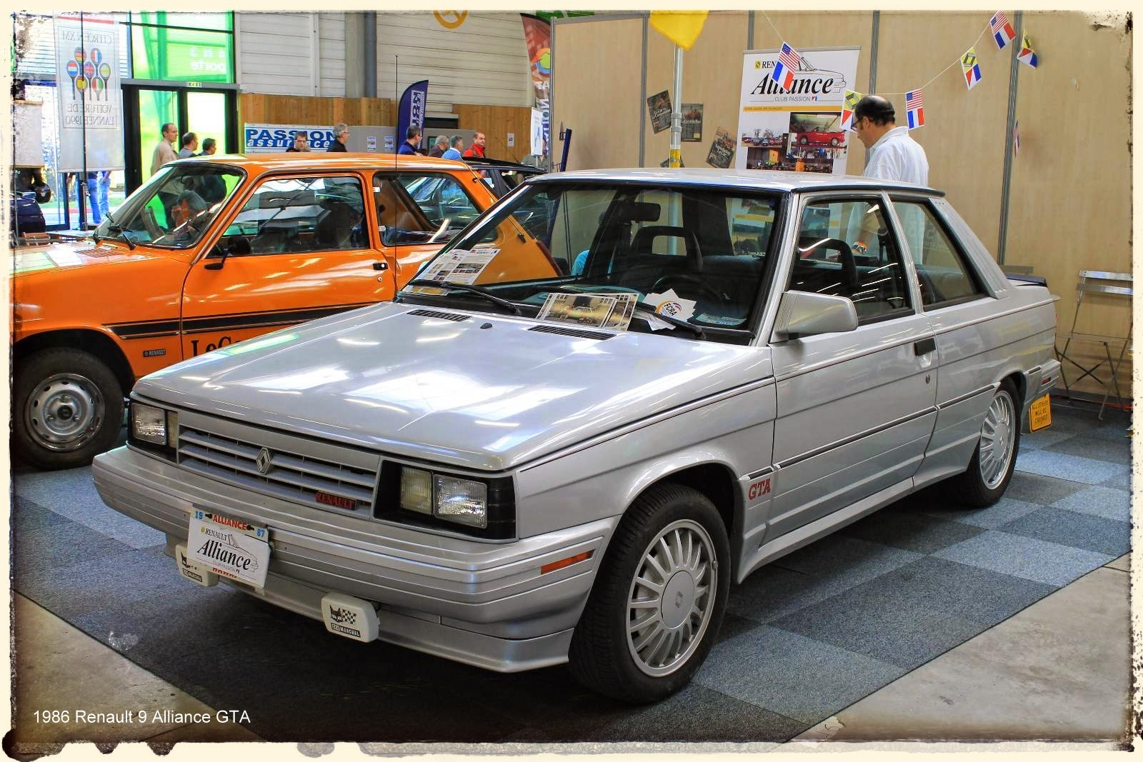 Automédon - 1986 Renault 9 Alliance GTA