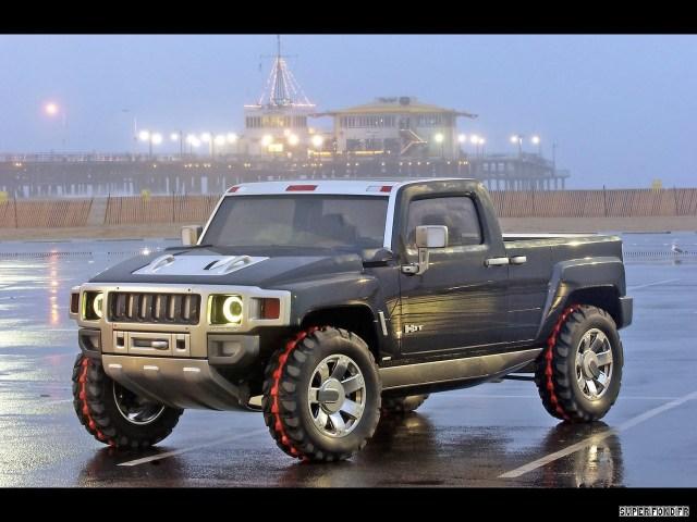 2003 Hummer H3T Concept