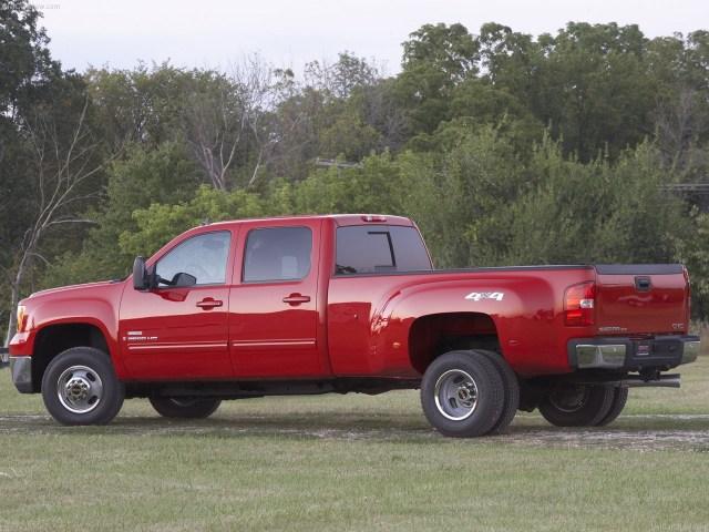 2007 GMC Sierra 3500 HD SLT Crew Cab