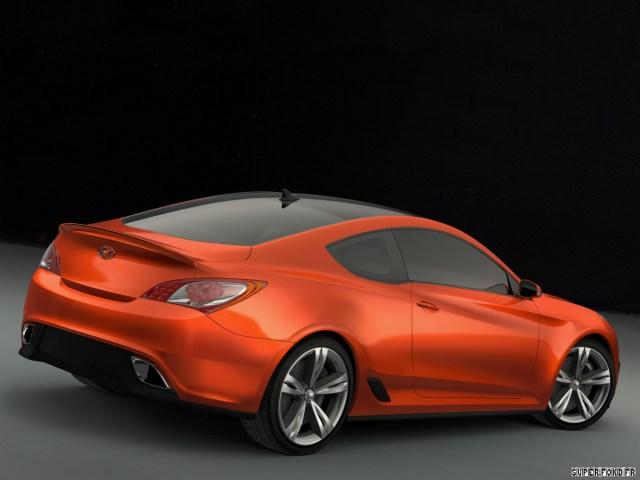 2007 Hyundai Genesis Coupe Concept