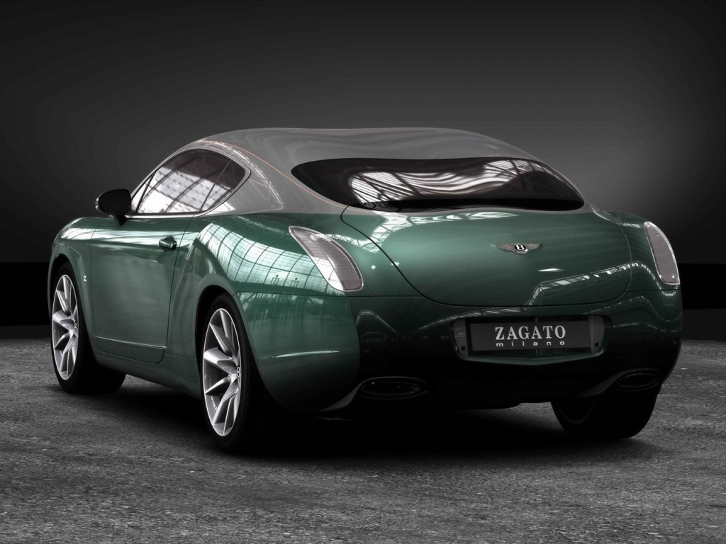 2008 Bentley Zagato GTZ Rendering