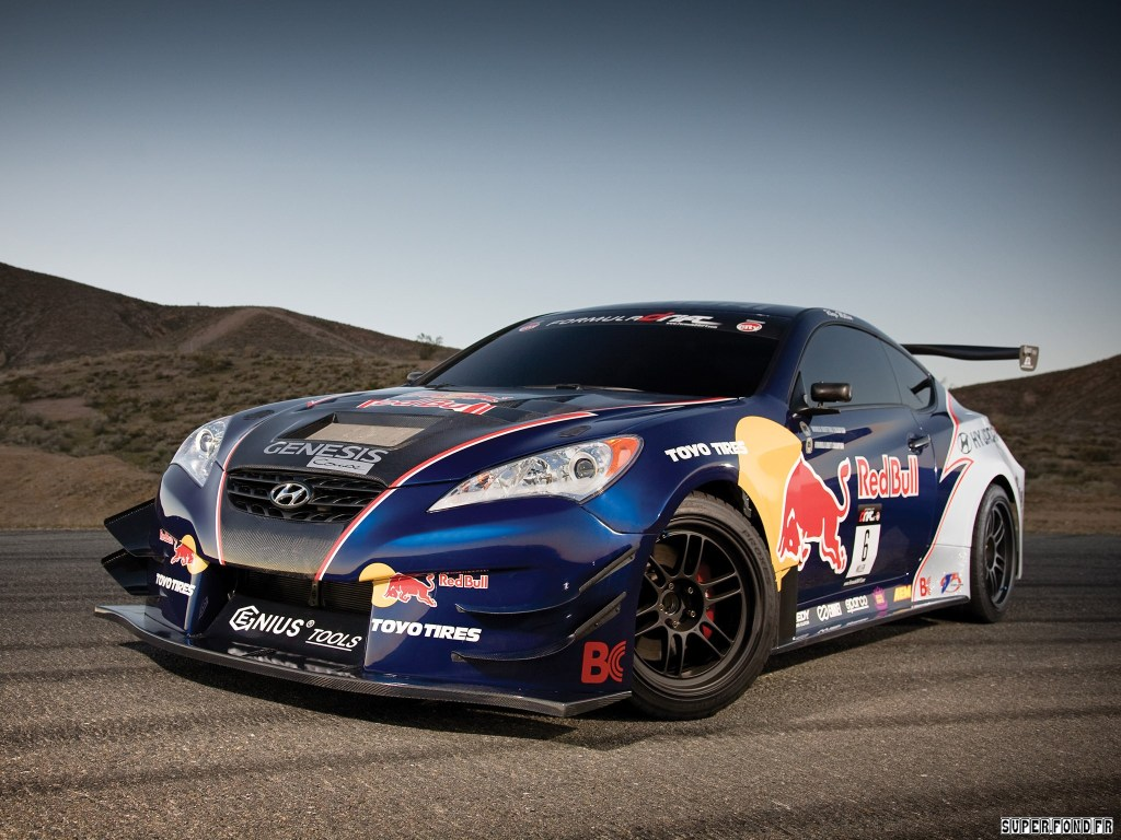 2009 Hyundai Genesis Coupe by MRM Red-Bull