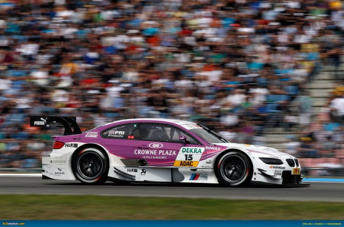 2012 DTM Hockenheim - BMW- Priaulx