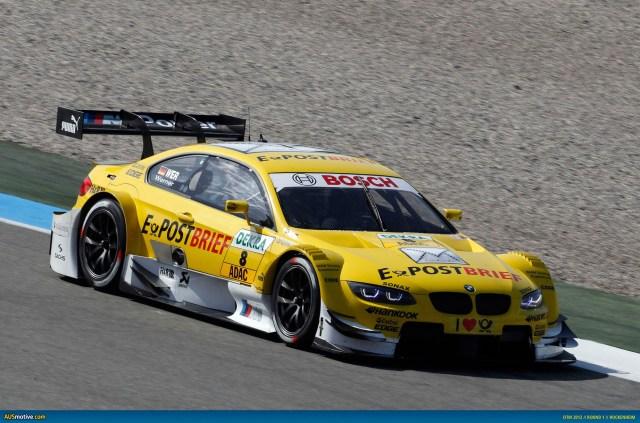 2012 DTM Hockenheim - BMW - Werner