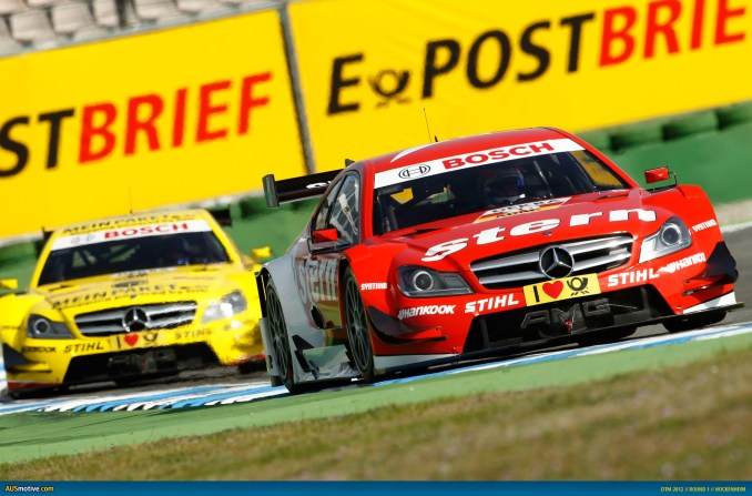 2012 DTM Hockenheim - Mercedes