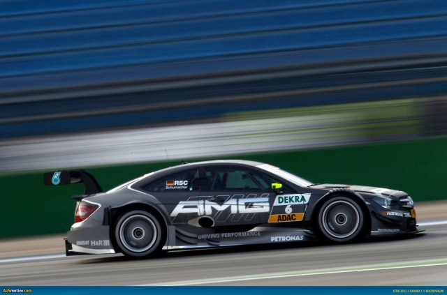 2012 DTM Hockenheim - Mercedes - Schumacher