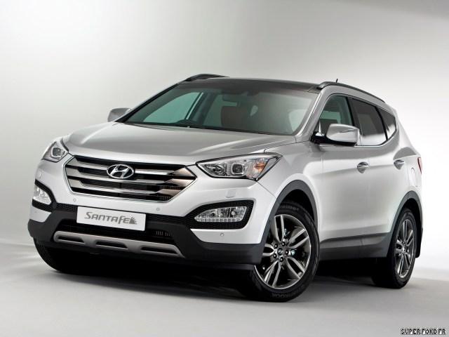 2012 Hyundai Santa FE UK