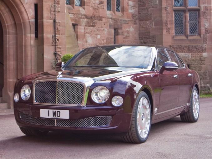 2012 Bentley Mulsanne Diamond Jubilee
