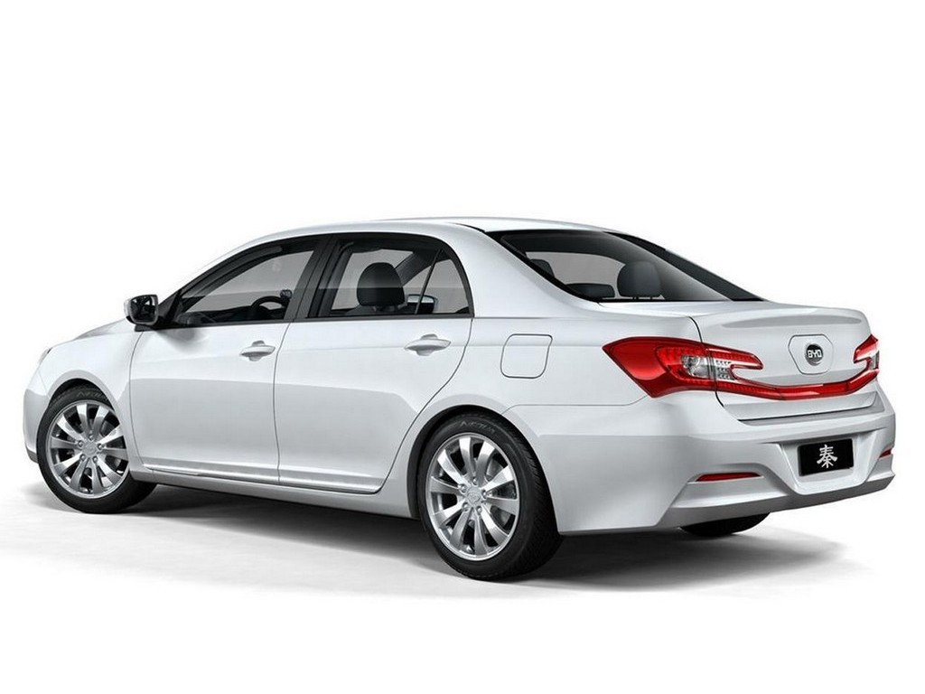 2012 Byd Auto Qin Concept