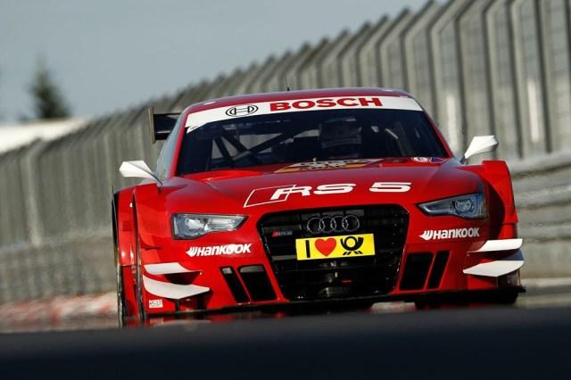 2013 DTM Nurburgring - Audi - Miguel Molina