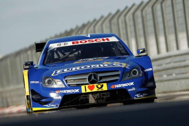 2013 DTM Nurburgring - Mercedes AMG - Gary Paffett