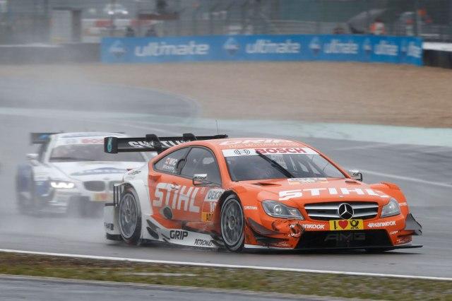 2013 DTM Nurburgring - Mercedes AMG -Robert Wickens