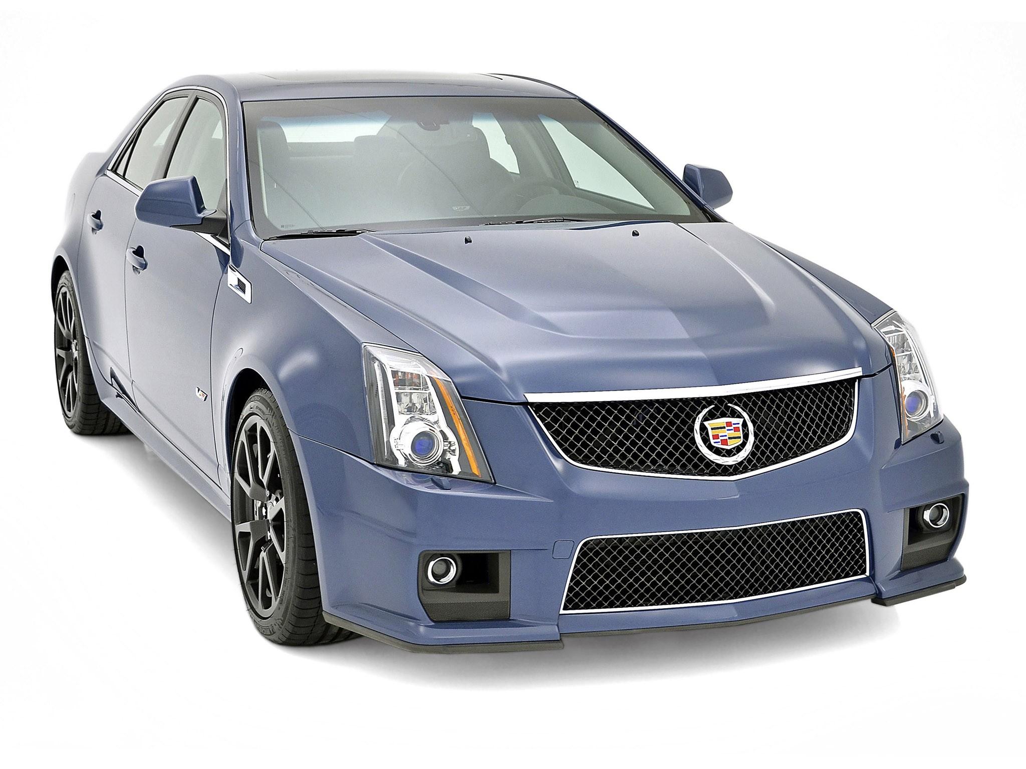 2013 Cadillac TS-V Stealth Blue Edition