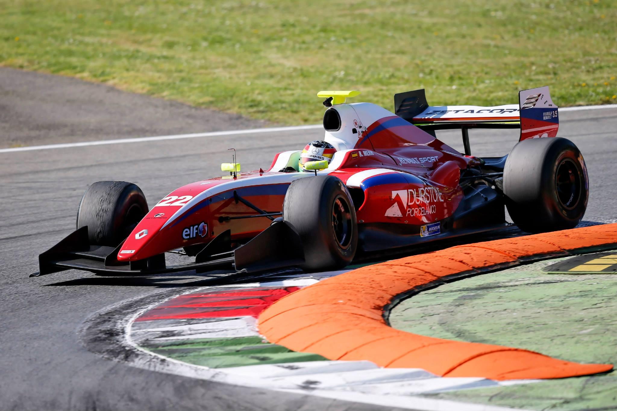 2014 Formula Renault 3.5 Series - Monza - Roberto Merhi