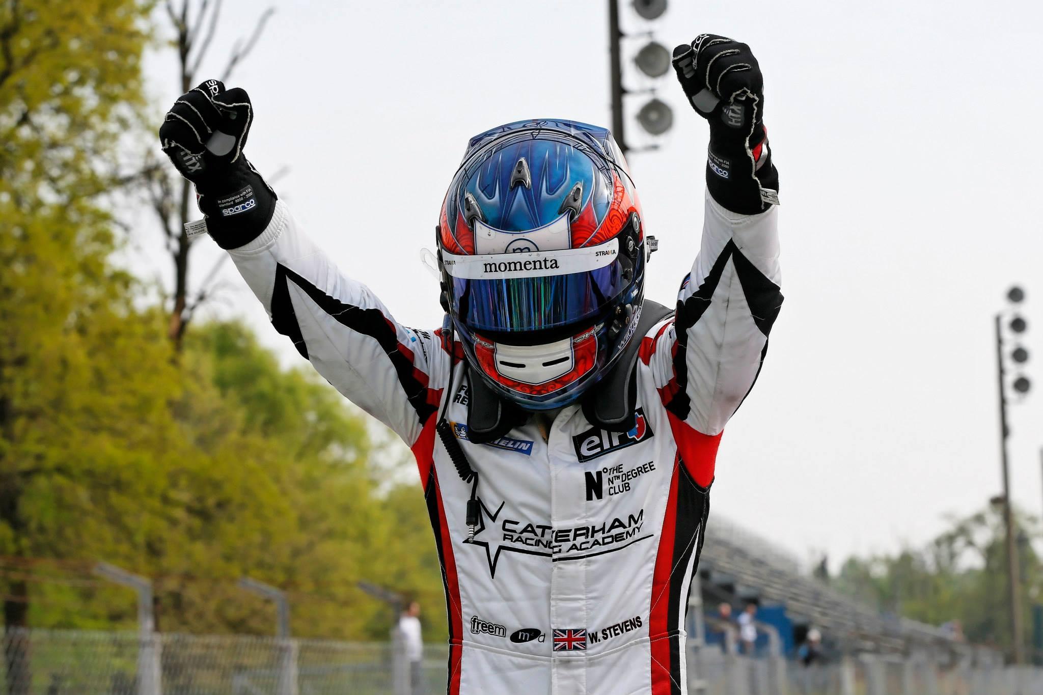 2014 Formula Renault 3.5 Series - Monza - Will Stevens