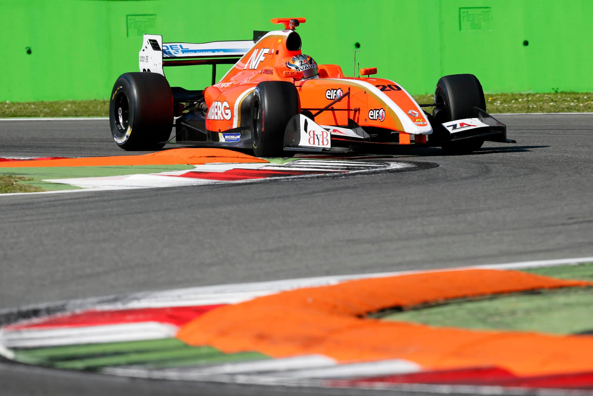 2014 Formula Renault 3.5 Series – Monza – Zoel Amberg