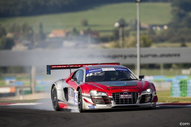2014 GT Tour Magny-Cours Audi R8 LMS Ultra N°43