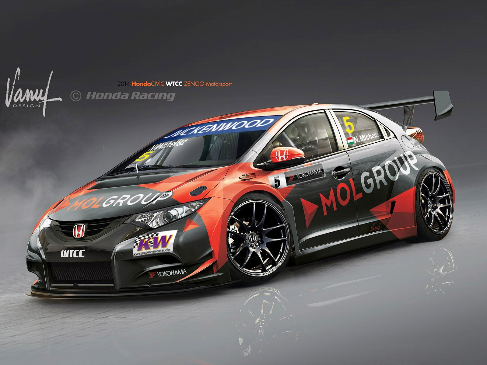 2014 Honda Civic WTCC Zengo Motorsport