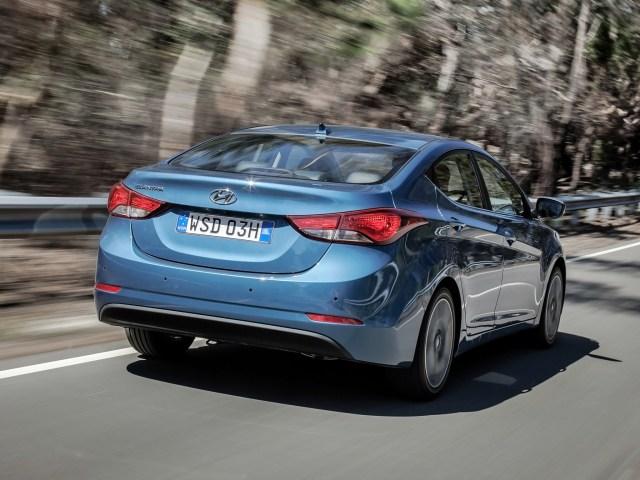 2014 Hyundai Elantra Australia