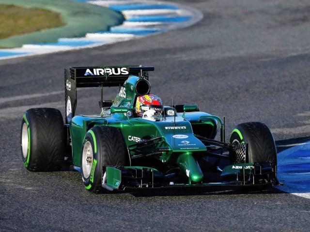 2014 Caterham F1 CT05
